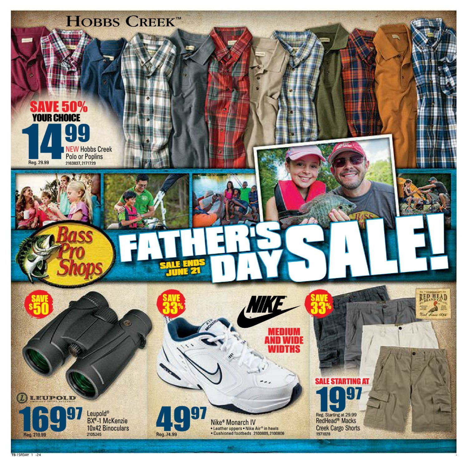 Bass Pro Shops Weekly Flyer - Father s Day Sale - Jun 8 – 21 -  RedFlagDeals.com 9e5d229c2