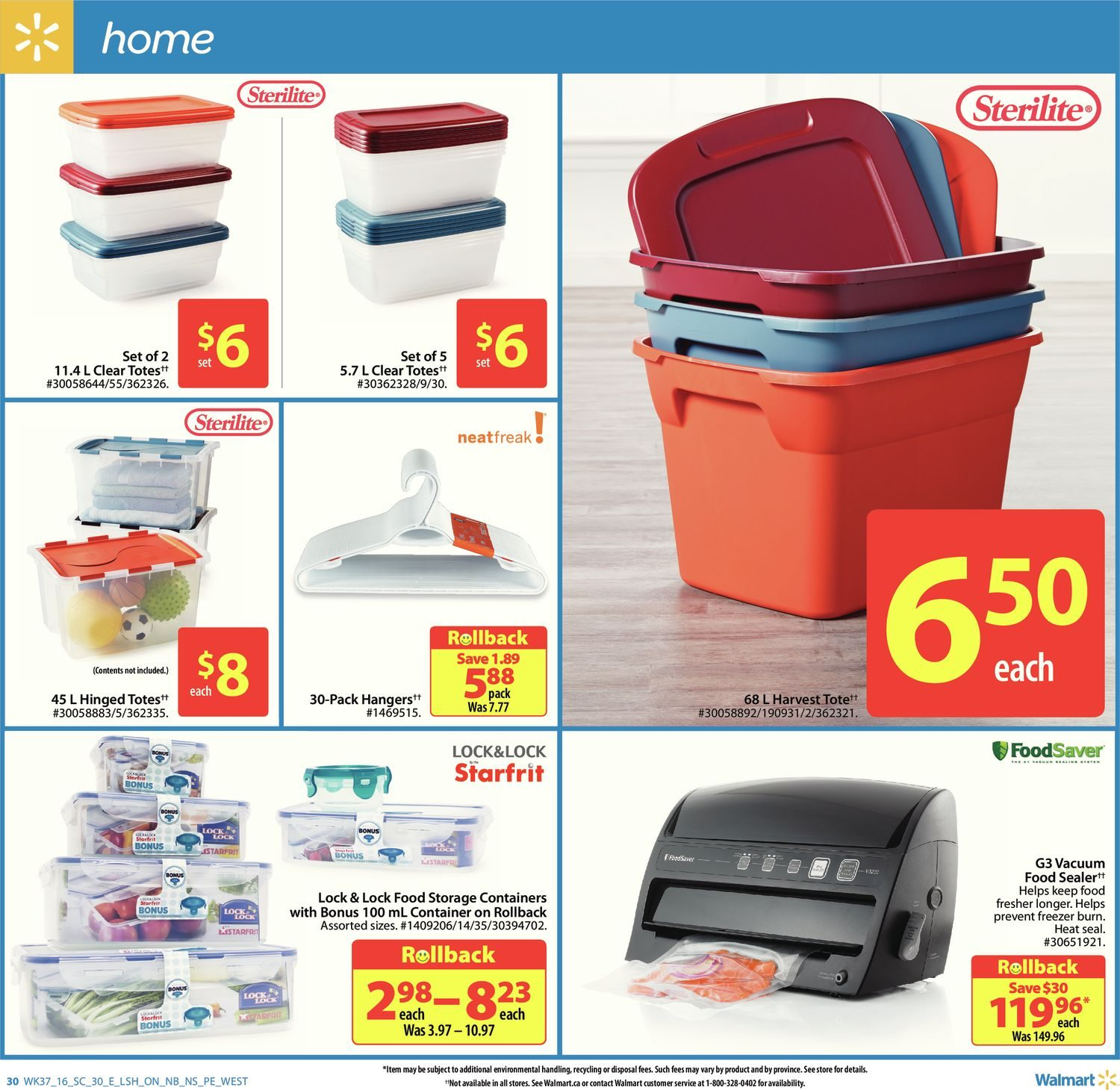 Walmart Weekly Flyer Supercentre Give Thanks Oct 6 12