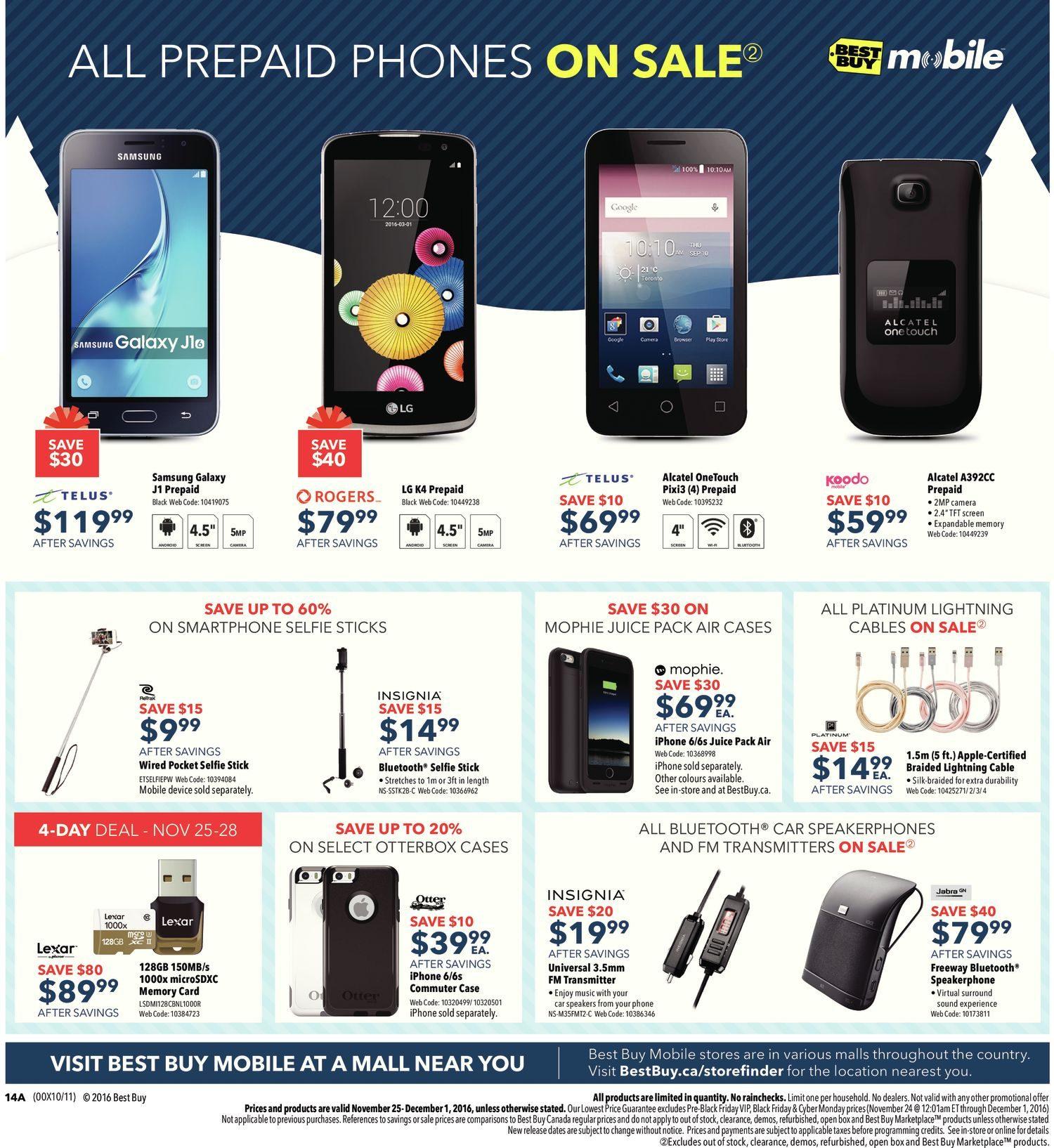 Best Buy Weekly Flyer - Weekly - Black Friday Sale - Nov 25 – Dec 1