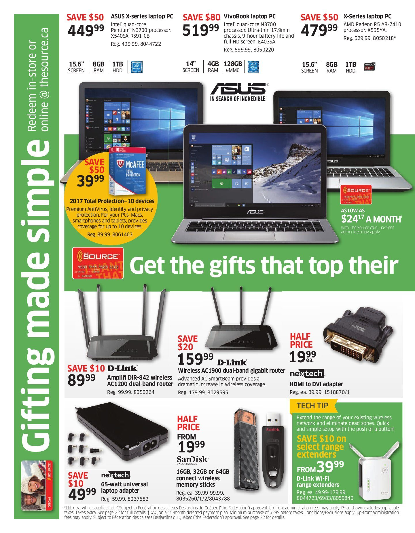 The source weekly flyer i want that for christmas cool gifts for the source weekly flyer i want that for christmas cool gifts for everyone on your list dec 8 14 redflagdeals gumiabroncs Choice Image