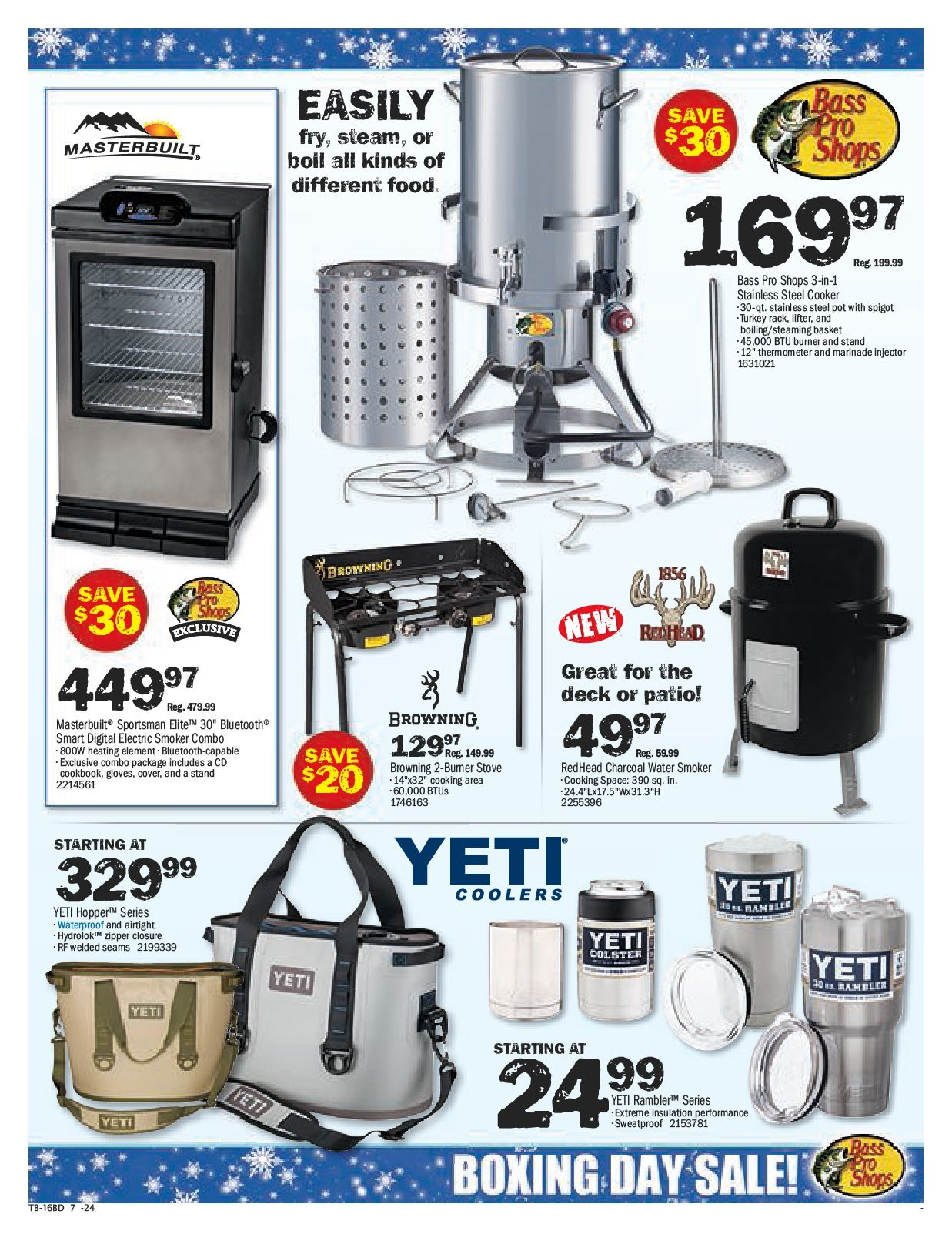 Bass Pro Shops Weekly Flyer - Boxing Week Sale & Clearance