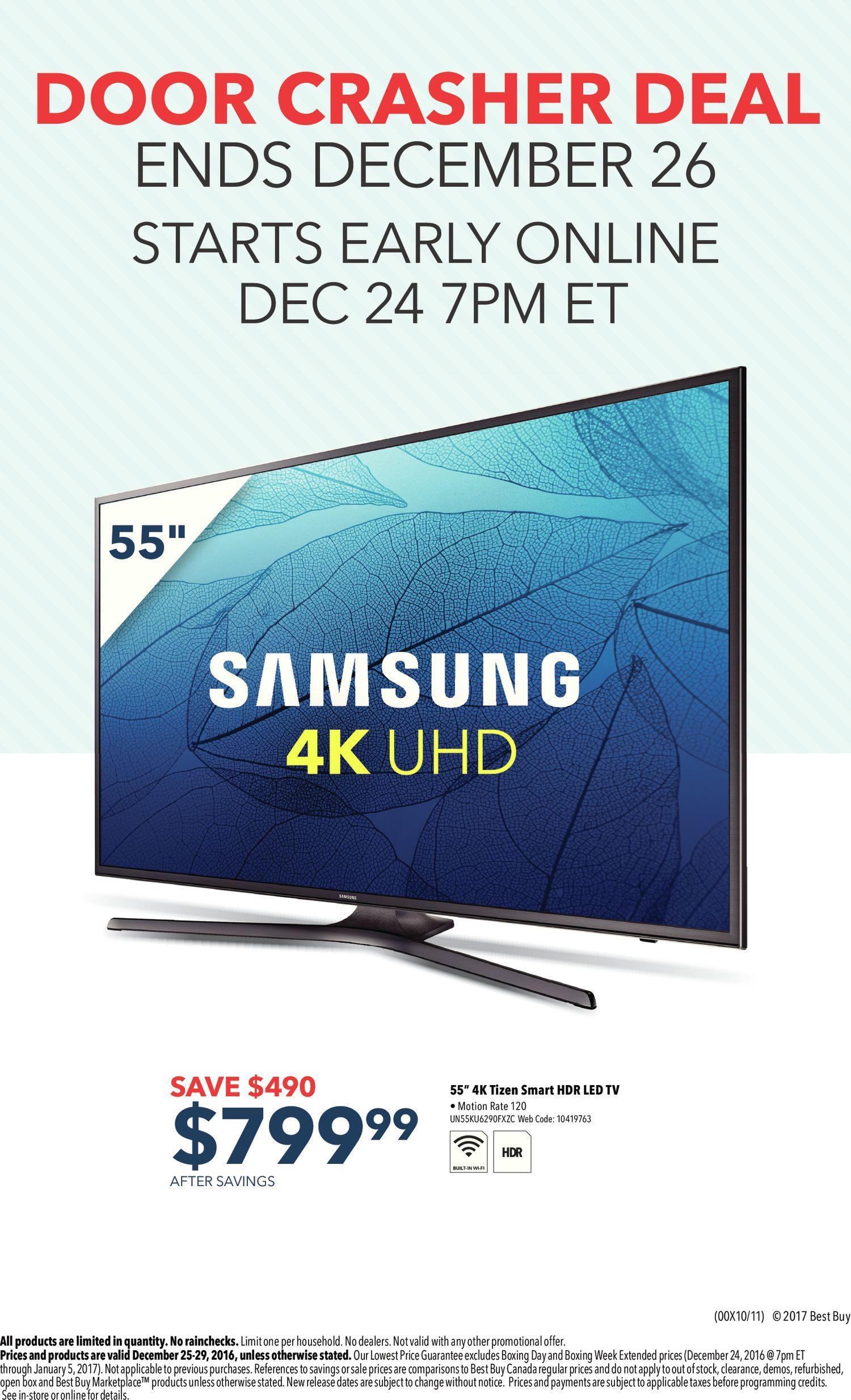 Best Buy Weekly Flyer - Boxing Day Sale - Dec 25 – 29 - RedFlagDeals.com