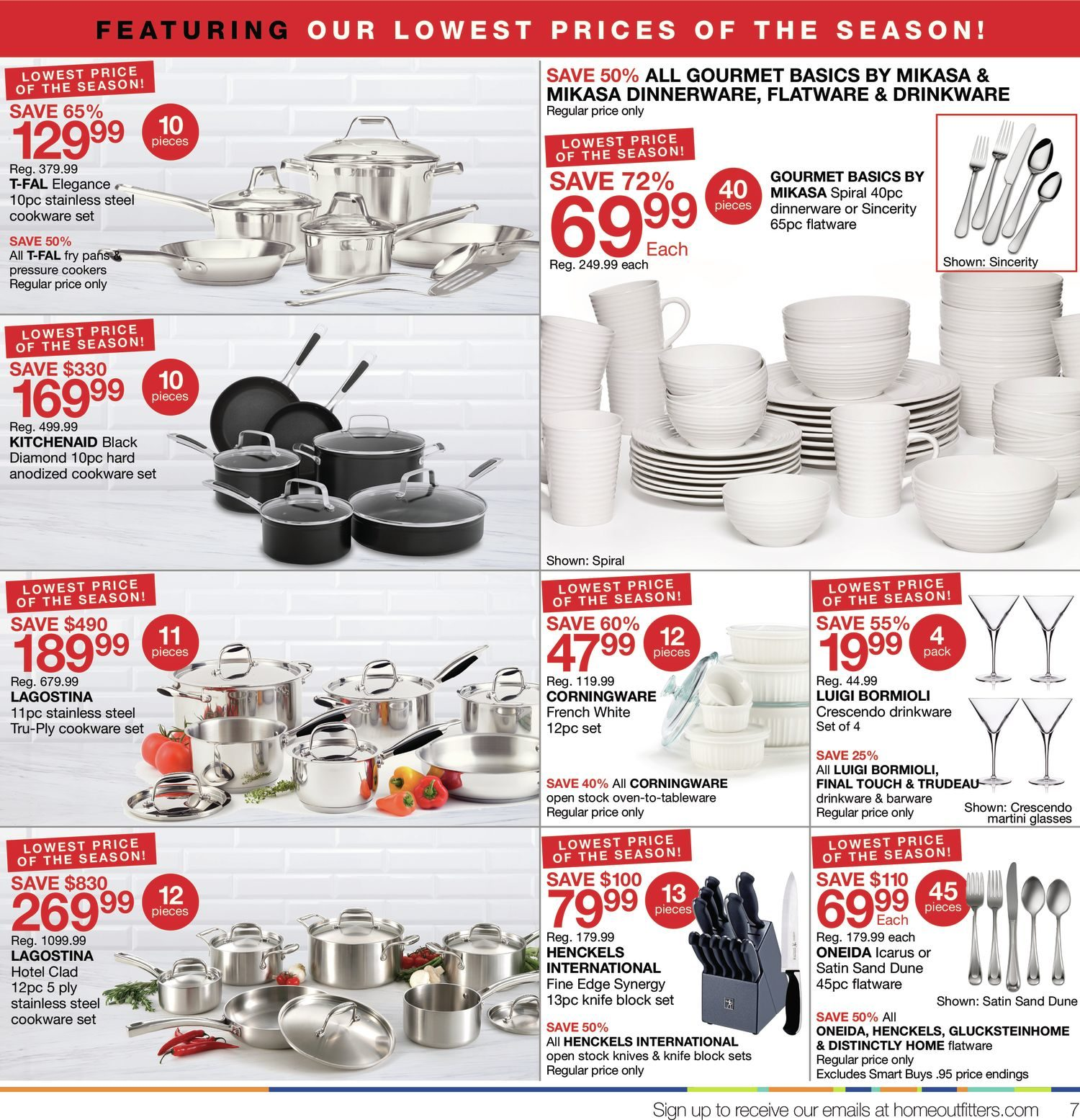 Home Outfitters Weekly Flyer - Weekly - We Love Home Days! - May 19 \u2013 25 - RedFlagDeals.com  sc 1 st  RedFlagDeals.com & Home Outfitters Weekly Flyer - Weekly - We Love Home Days! - May 19 ...