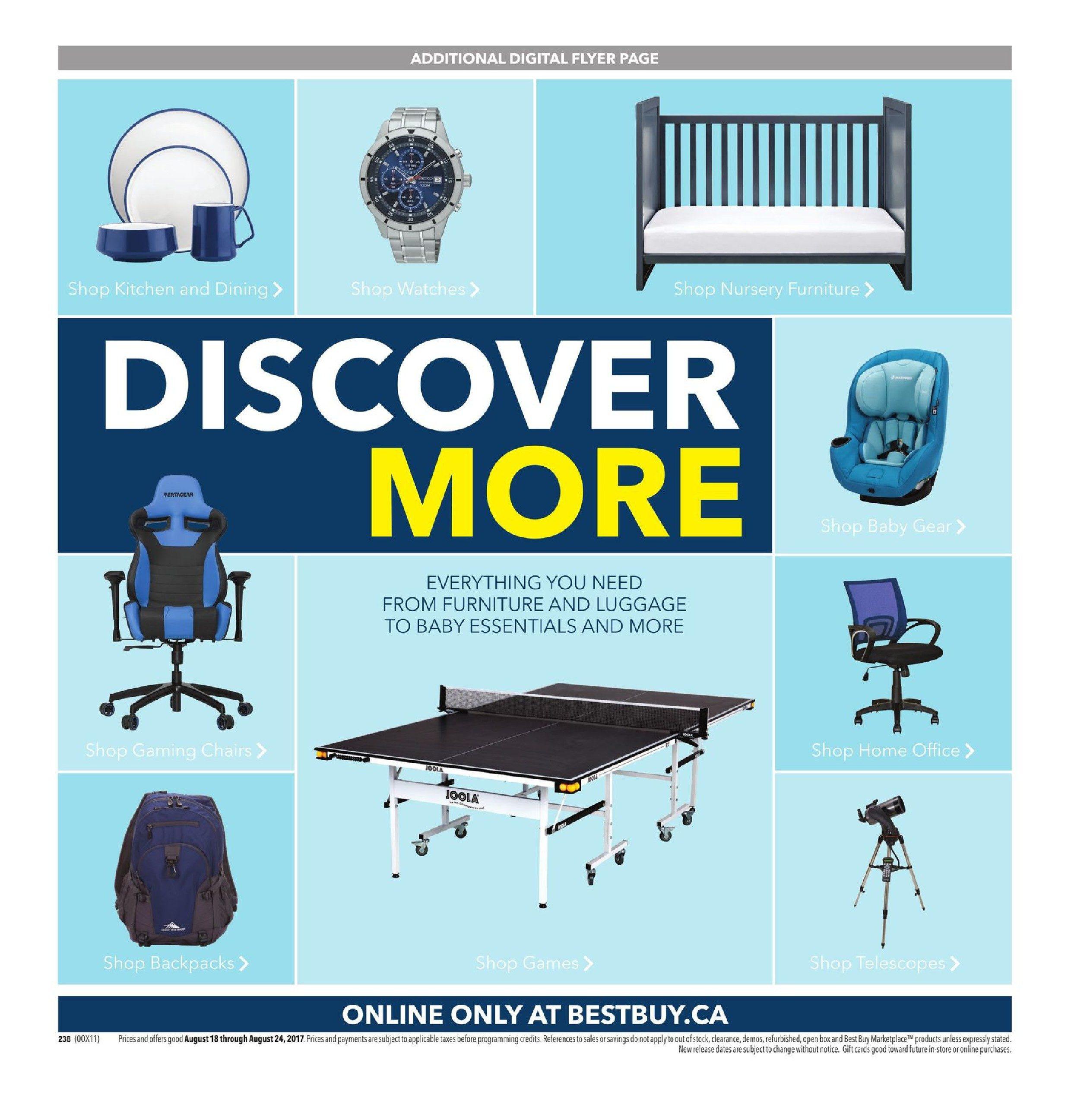 best buy weekly flyer weekly back to school savings aug 18 rh redflagdeals com