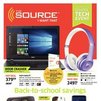 - 2 Weeks of Savings - Back to School Tech Event Flyer