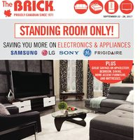 The Brick - Standing Room Only! Flyer