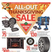 - Weekly - All-Out Thanksgiving Sale Flyer