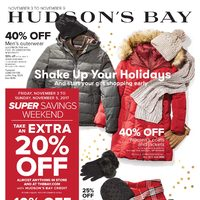 The Bay - Weekly - Shake Up Your Holidays Flyer