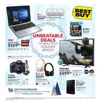 Best Buy - Weekly - Unbeatable Deals Flyer