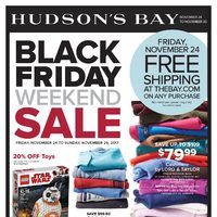 The Bay - Weekly - Black Friday Weekend Sale Flyer