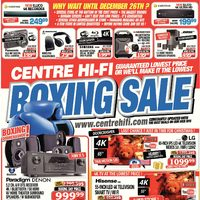Centre HIFI - Weekly - Boxing Sale Flyer