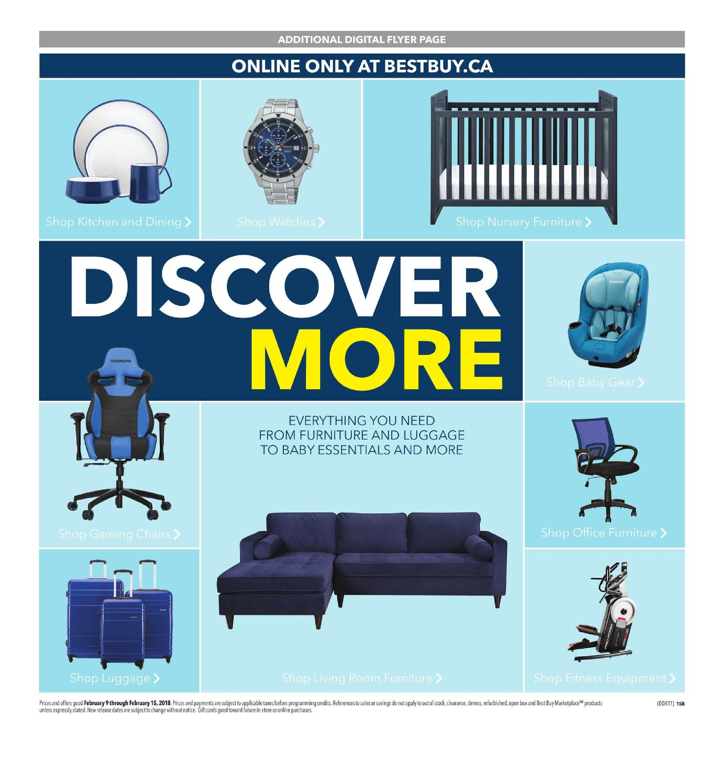 Best Buy Weekly Flyer - Weekly - Thrilling Deals - Feb 9 – 15 ...