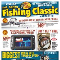 Bass Pro Shops - Vaughan - 2018 Spring Fishing Classic Flyer