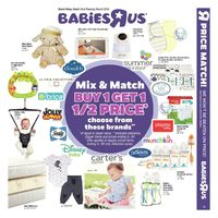 Babies R Us - Weekly - Mix & Match Flyer