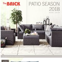The Brick - Patio Season 2018 Flyer