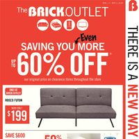 The Brick - Outlet - Spring Home Event Flyer