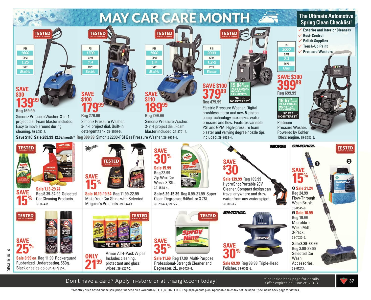 Canadian Tire Weekly Flyer - Weekly - Deals Chef Want