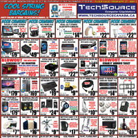 Tech Source - Cool Spring Bargains! Flyer