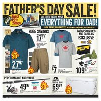 Bass Pro Shops - Father's Day Sale! Flyer