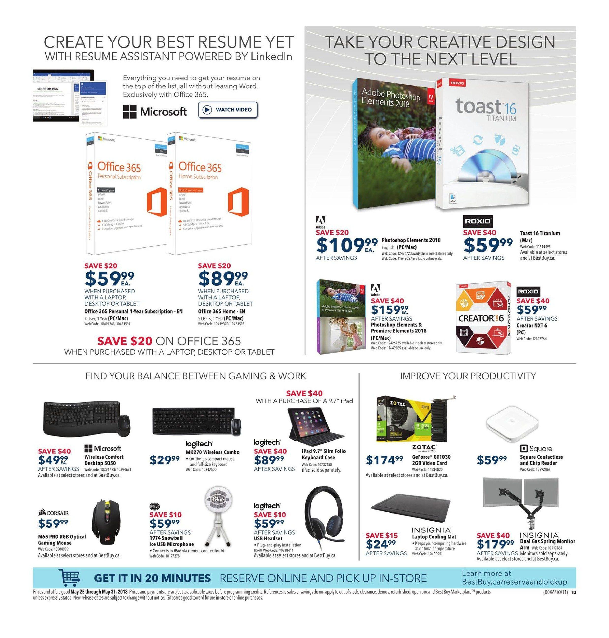 Best Buy Weekly Flyer Weekly Dive Into Amazing Deals May 25 – 31 RedFlagDeals