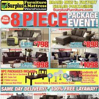 Surplus Furniture Flyer - Kitchener, ON - RedFlagDeals.com
