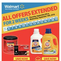 Walmart - Weekly - All Offers Extended For 2 Weeks Flyer