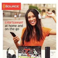 The Source - 2 Weeks of Savings - Entertainment At Home & On-The-Go Flyer