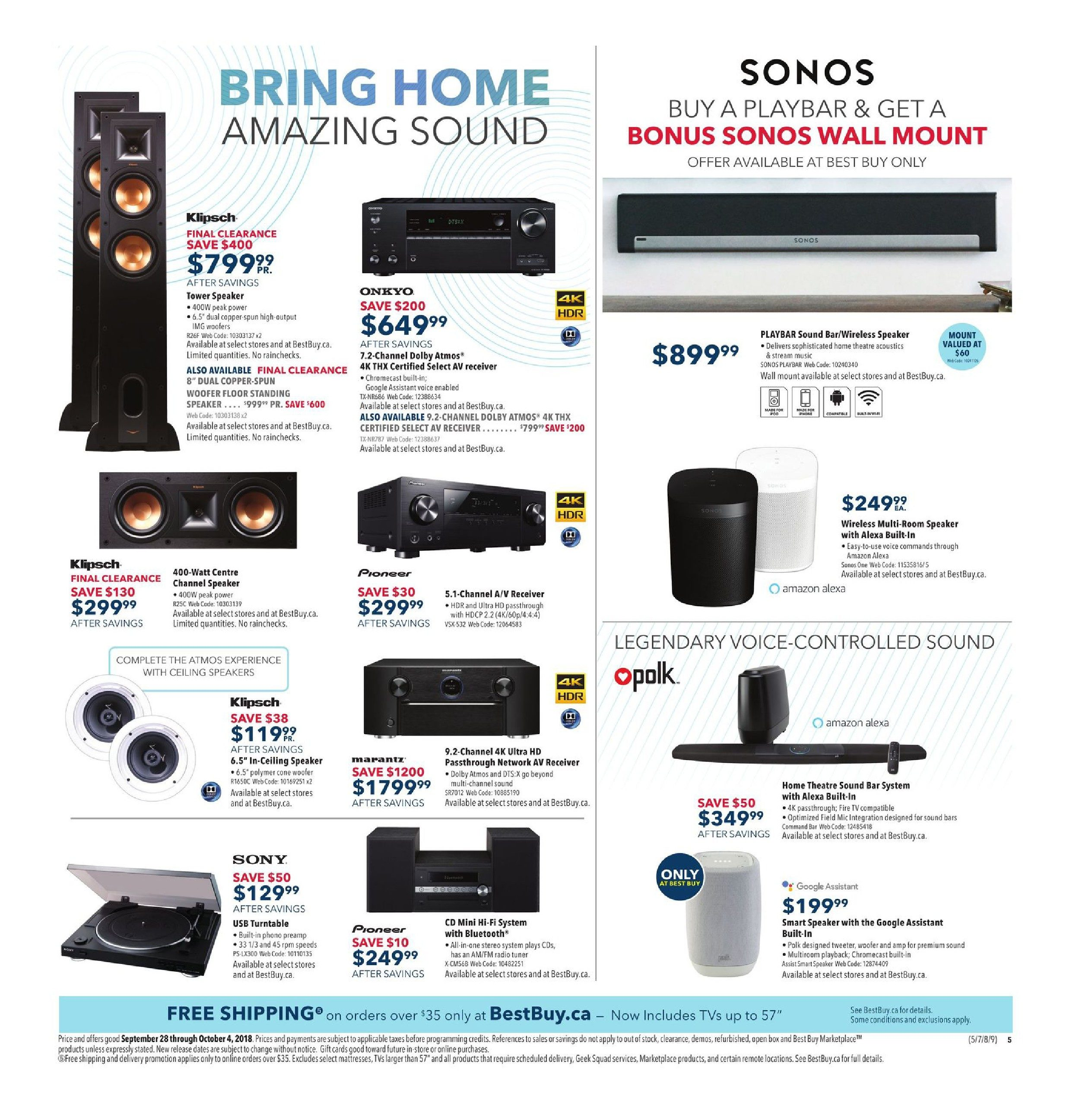 Best Buy Weekly Flyer Bring Home The Action Sep 28 Phone Jack Wiring Question For Voip Redflagdealscom Forums Oct 4