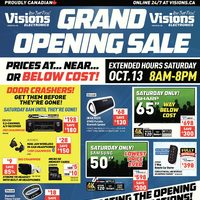 Visions Electronics - Weekly - Grand Opening Sale Flyer
