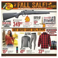 Bass Pro Shops - Fall Sale! Flyer