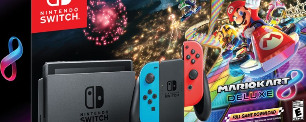 Nintendo Will Release A New Switch and Mario Kart 8 Deluxe Bundle For Black Friday