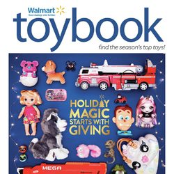 Walmart - Toybook - Holiday Magic Starts With Giving Flyer