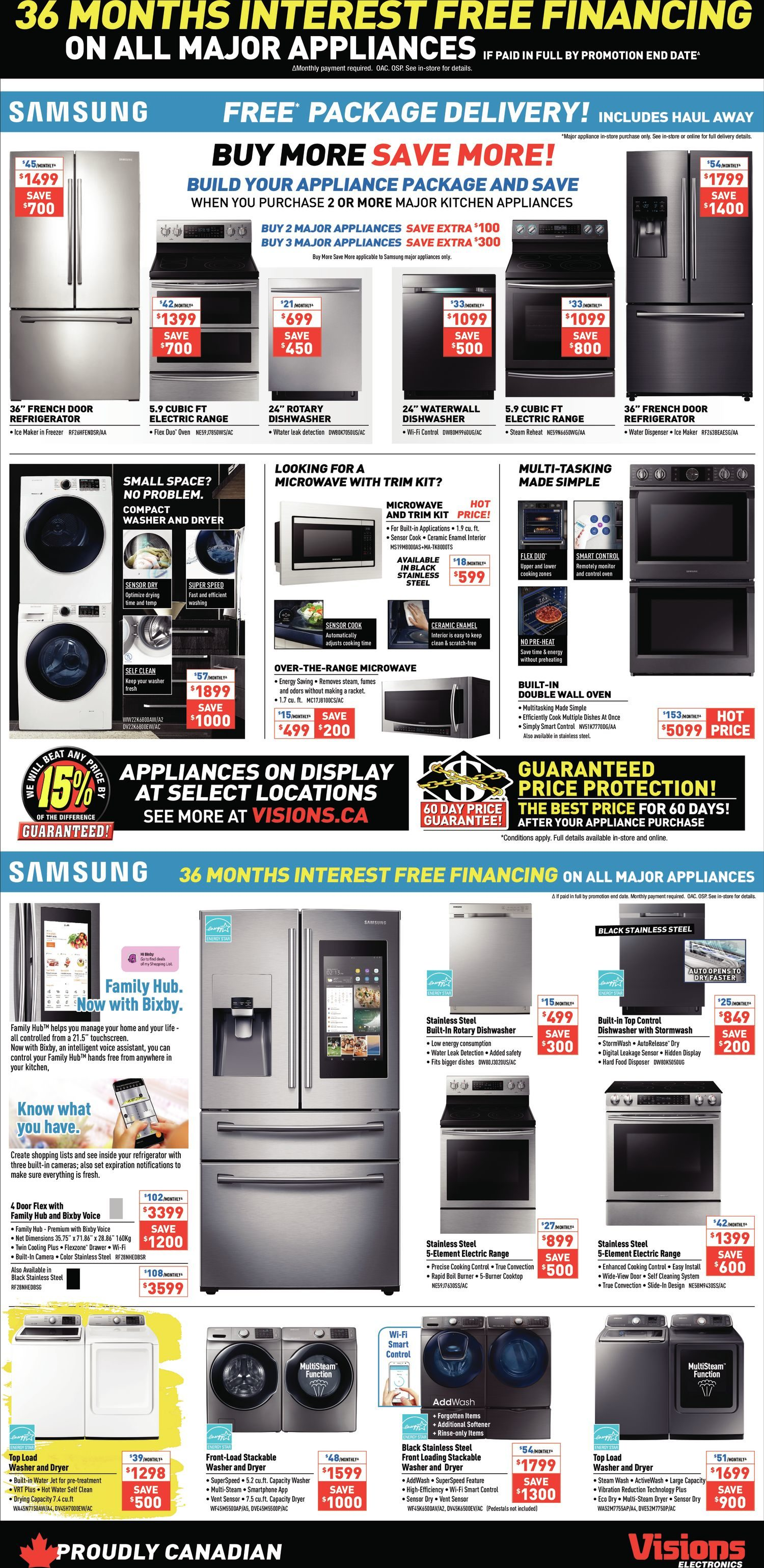 Visions Electronics Weekly Flyer - Weekly - Black Friday