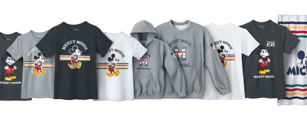 A New Mickey 90th Clothing Line Has Just Arrived At Hudson's Bay