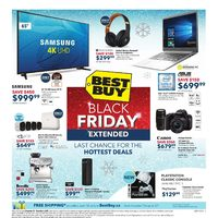 Best Buy - Weekly - Black Friday Extended Flyer
