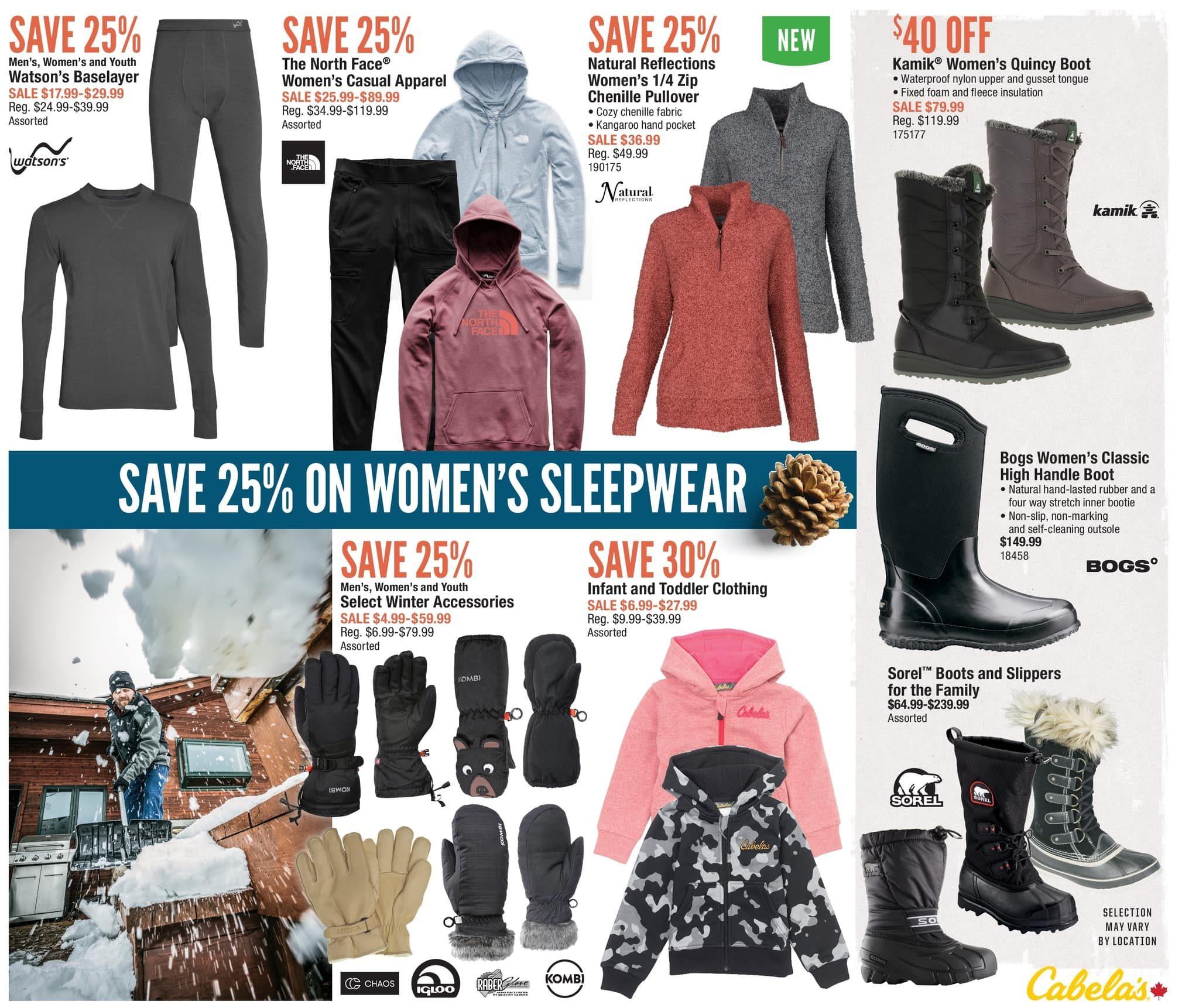 02a3e124947 Cabelas Weekly Flyer - Ultimate Christmas Sale! - Dec 2 – 12 -  RedFlagDeals.com