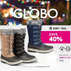 Globo Shoes - Winter Sale Flyer