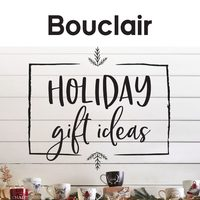 Bouclair - Holiday Gift Ideas Flyer