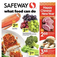 Safeway - Weekly Specials - What Food Can Do Flyer