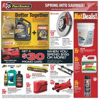 PartSource - Spring Into Savings! Flyer