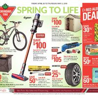 Canadian Tire - Weekly - Spring To Life Flyer