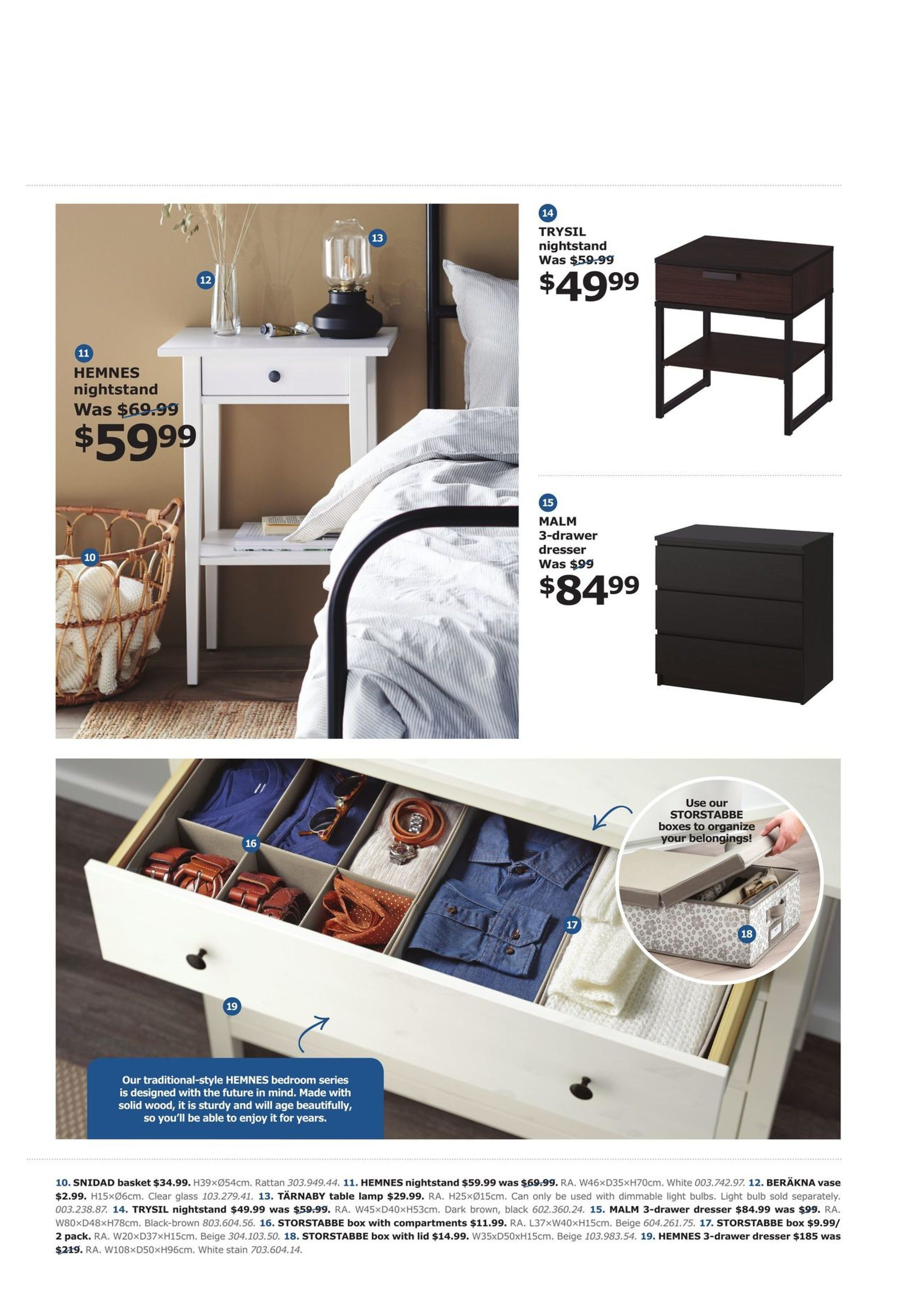 IKEA Weekly Flyer - The Bedroom Event - Apr 10 – May 10