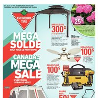 Canadian Tire - Weekly - Canada's Mega Sale Flyer