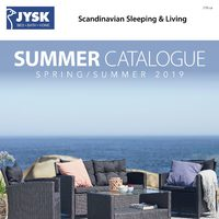JYSK - Summer Catalogue Flyer