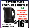 Better Chef Cordless Kettle