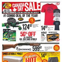 Bass Pro Shops - Canada Day Sale Flyer