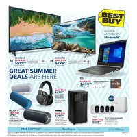 Best Buy - Weekly - Great Summer Deals Are Here Flyer