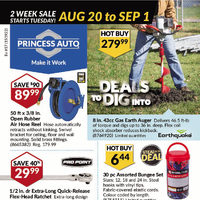 Princess Auto - Deals To Dig Into Flyer