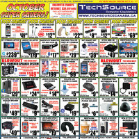 Tech Source - October Super Savers! Flyer