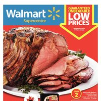 Walmart - Supercentre - Give Thanks For Fall Savings Flyer